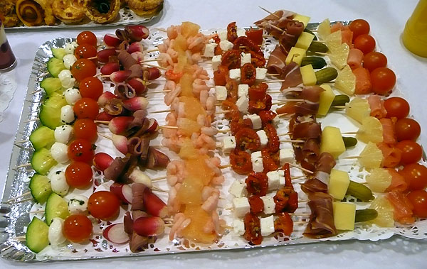 BROCHETTES SALEES